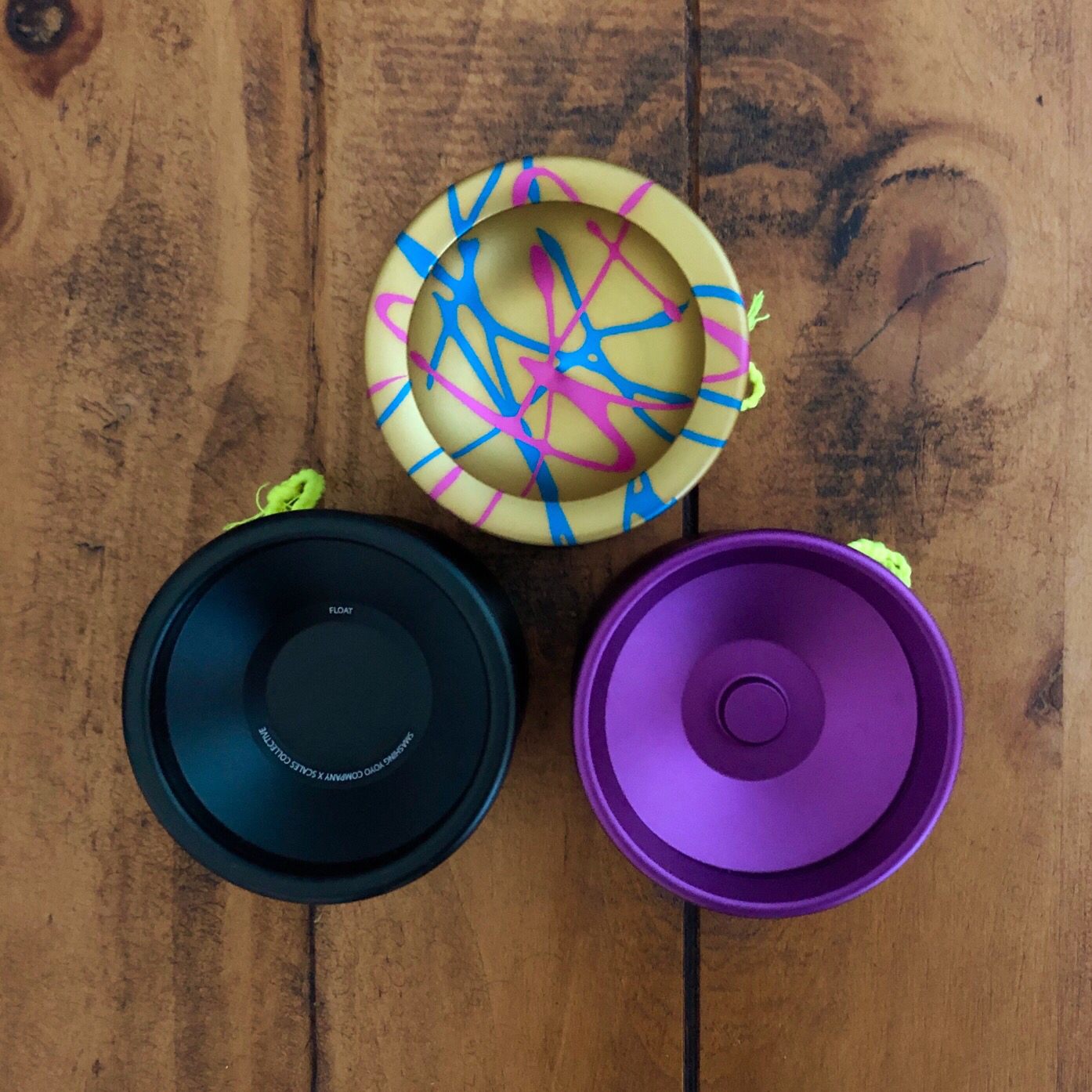 Smashing YoYos Monocle, Float, and Bounce